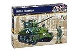 Italeri - I225 - Maquette - Chars d'assaut - M4A1 Sherman - Echelle 1:35