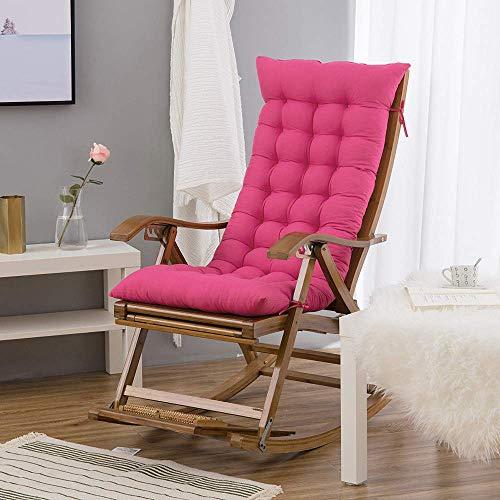 Hanhan, cuscino per sedia a dondolo in legno, portatile, spesso, morbido, estivo, per viaggi, vacanze, interni ed esterni