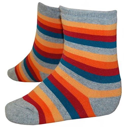 RIESE STRÜMPFE - Socken für Mädchen, gestreift, Größe 27-30