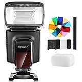 Neewer TT560フラッシュスピードライトセット Canon Nikon Panasonic Olympus と他のDSLRカメラに対応 12枚カラーフィルター、ハードディフューザーとマイクロファイバークリーニングクロス付き