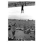 Pearl Jam Pinkpop 1992 Kunst Leinwanddruck Fotopapier