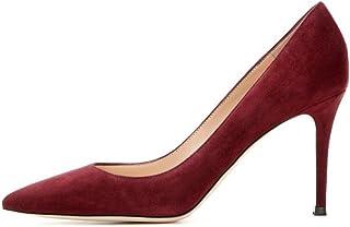 elashe- Scarpe da Donna - 8CM - Scarpe col Tacco - Classiche Scarpe col Tacco