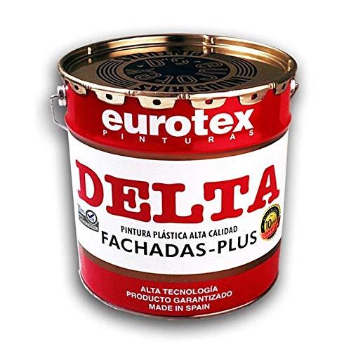 PINTURA FACHADAS PLASTICA BLANCO 10KG DELTA EUROTEX