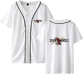 80dd3d707247f CTOOO T Shirt Baseball Shawn Mendes Vêtements Commémoratifs Homme Femme Ado  2XS-4XL