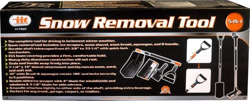 Fantastic Prices! IIT 17625 5 in 1 Snow Removal Tool by IIT