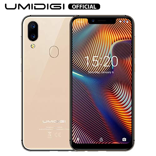 UMIDIGI A3 Pro GSM Unlocked Cell Phones 3GB+32GB(Expandable Storage to 256G) 5.7' inch 19:9 Full-Screen Display 12MP + 5MP Dual Camera Global Band Dual 4G LTE 2 + 1 Card Slots Android 9.0(Rose Gold)