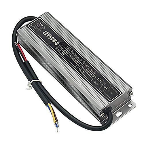 Pilote d'alimentation LED IP67 étanche 60 W - 12 V CC.
