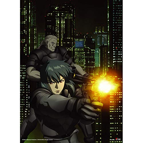 Great Eastern Entertainment Ghost in The Shell-Sac Stand Alone Wall Scroll, 33 by 44-Inch