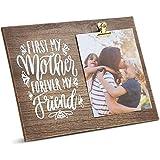 Marco de fotos con clip de madera para fotos de 15 x 17 cm, regalos del día de la madre