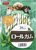 PETRO(ペトロ) 犬用おやつ ロールガム 24本入り (ミント味)