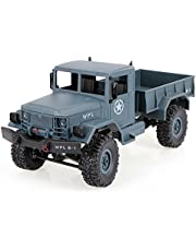 WPL B-1 4WD RC Car 1/16 2.4G Off-Road RC Military Truck Rock Crawler Army Car