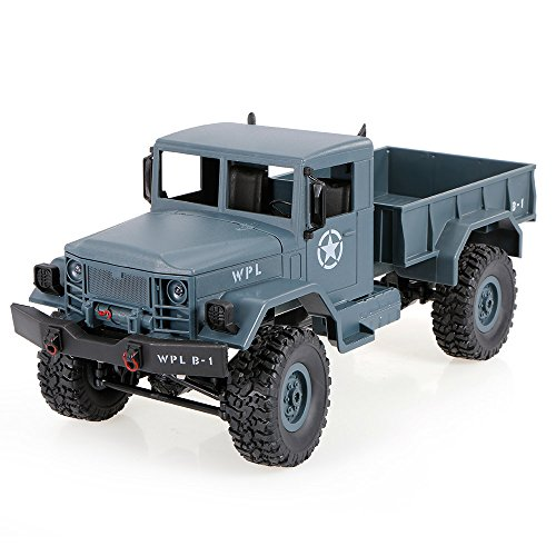 Goolsky Heng Long 3853A 1/16 2.4G 4WD Off-Road RC Militar Truck Rock Crawler Army Car