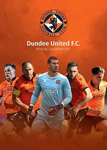 Dundee United Football Club Official 2021 Calendar A3 Wall Calendar Format…