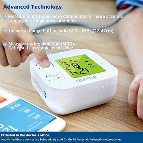 iHealth TRACK KN-550BT – Tensiomètre connecté pour le bras – Dispositif médical