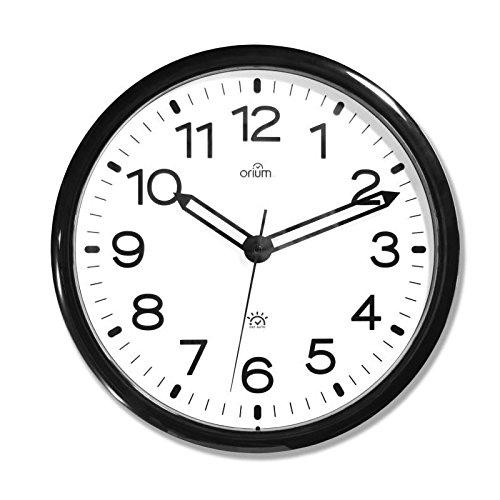 Orium 11097, Automatik-Uhr, DST, Durchmesser 36 cm, Kunststoff, schwarz, 36 cm
