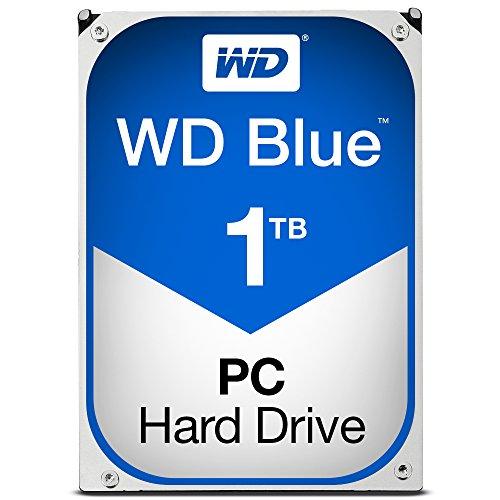 Western Digital 1340021670 - Disco Duro WD Blue 1Tb Sata6 64Mb, Color Negro