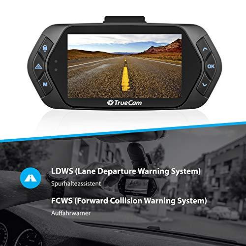 TrueCam A7s GPS Professionelle Dashcam Autokamera 2K Super HD - 3