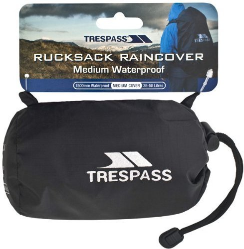 Trespass Waterproof Rucksack Rain cover Small fits 10 - 25L Rucksacks
