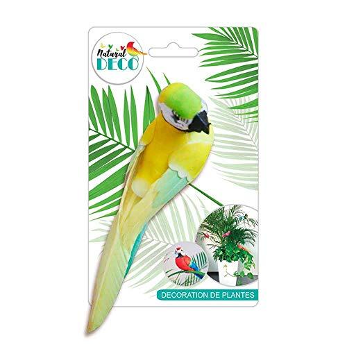 STC Déco Plantes – Grand Oiseau Jaune CD3820