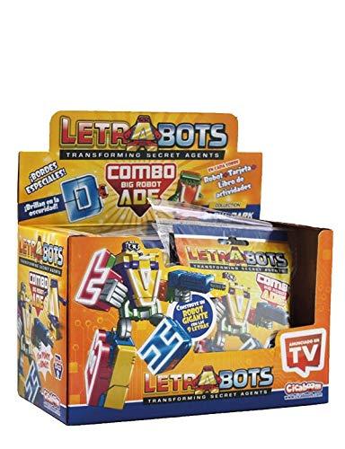 Sbabam LetraBots Big Robot ADE 419308. Figura. Display de 9 Unidades.