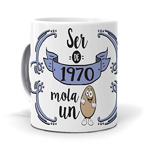 mundohuevo Taza Ser de 1970 Mola un Huevo