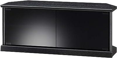 朝日木材加工 テレビ台 ESPACE 32型 幅79cm ブラック キャスター付き コーナー対応 EPA-800AV-BK