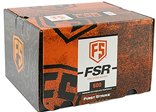 First Strike FSR Cal.68 600er Pack, Farbe:Smoke/Yellow/Yellow