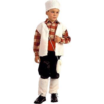 EL CARNAVAL Disfraz Pastor niño Talla S (4-6años): Amazon.es: Hogar