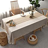 Rectangle Tablecloth Washable...