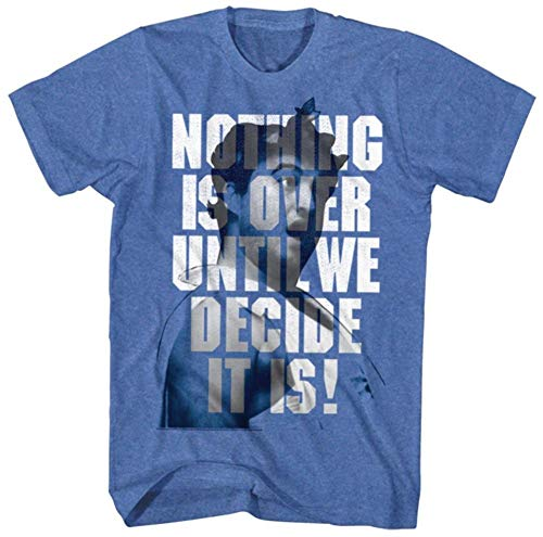 T-shirt Animal House- Until We Decide S - Bleu