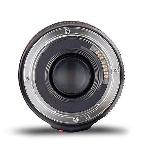 NAMVO Diffuser YONGNUO YN50MM F1.8 II AF//MF 0.35M Distancia de Enfoque Est/ándar Prime Lens White para Canon DSLR Camera