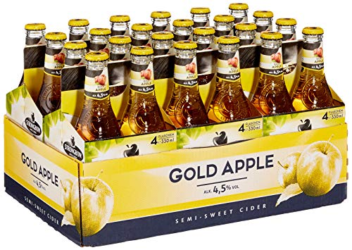 Strongbow Cider Gold Apple Cider (24 x )