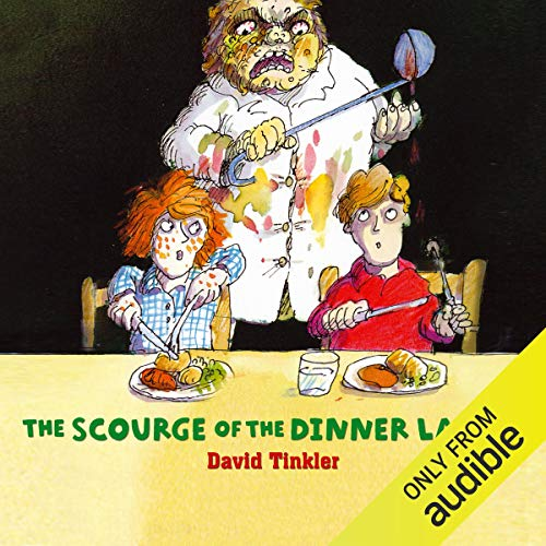 The Scourge of the Dinner Ladies audiobook cover art
