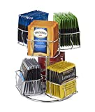 Nifty Solutions Tea Bag Storage and Organizer Spinning Carousel. Organize 60 Tea Bags. 6 C...