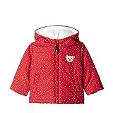 Steiff Baby-Mädchen Jacke und Punkten ,Rot (TANGO RED 4008) , 80