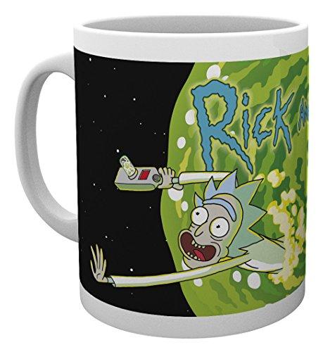 GB Eye LTD, Rick and Morty, Logo, Taza