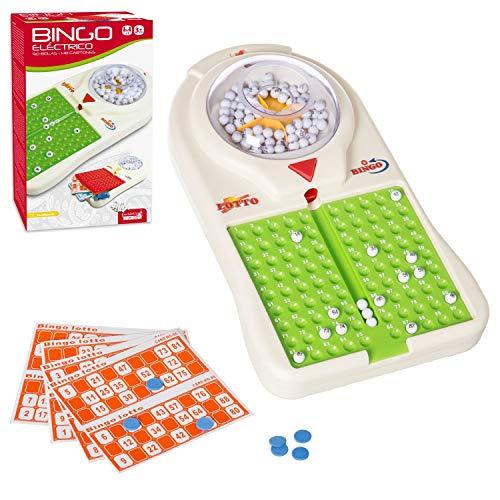 Lola Home Bingo Eléctrico 90 Bolas 48 Cartones 36 Cm