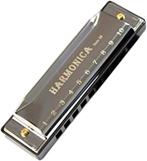 Sanwooden Pleasant Harmonica 10 Holes Harmonica Musical Instrument Children Early Education Mouth Organ Gift Harmonica