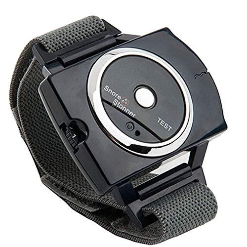 GUASD Reloj Antirronquidos, Respiracion Ssistida Anti-Ronquidos Reloj Inteligente para Roncar Dispositivo Avanzado Muñequera Que Deja De Roncar Maquina de Apnea del Sueño