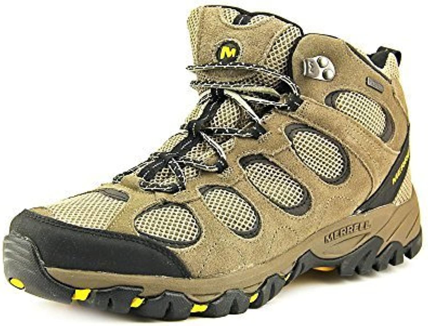Merrell Men's Hilltop Vent Mid Waterproof Hiking shoes (8.5 D(M) US Brindle)