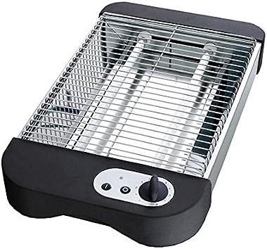 Tostadora eléctrica de cama plana de acero inoxidable, Parrillero de tostadora plana by DELIAWINTERFEL