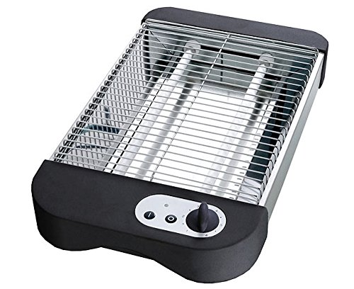 Edelstahl flaches elektrische Toaster, Flachbett-Toaster-Griller, Flachtoaster by TARGARIAN