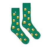 4LCK calcetines coloridos (Cerveza, Party) (Cerveza calcetines, EU: 39-42)
