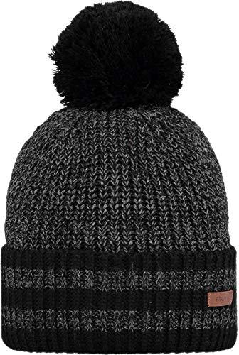 Barts M Tuny Beanie Schwarz, Herren Kopfbedeckung, Größe One Size - Farbe Black