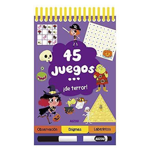 45 Juegos... ¡de terror!