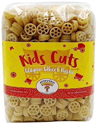 Wagon Wheel Pasta, 16 oz. (4 pack)