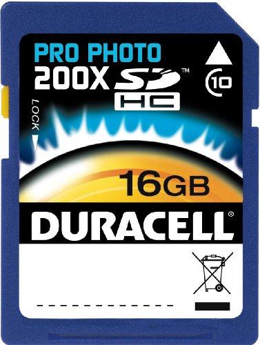 of duracell micro sd cards Duracell 16GB Class 10 UHS-1 U1 Prime SD HC Memory Card Up to 45MB/s [Compatible with Canon EOS Rebel T5 T5i T6 T6i 80D 6D SL1 Nikon D3300 D5500 D5600 D7200 D750 Sony Pentax Kodak Olympus Panasonic]