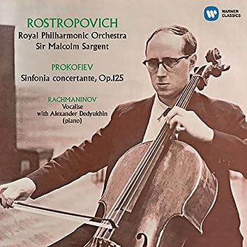 Prokofiev: Sinfonia concertante, Rachmaninov: Vocalise