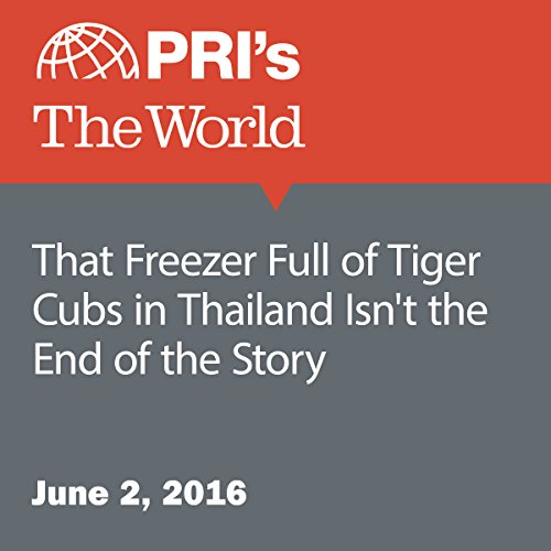 That Freezer Full of Tiger Cubs in Thailand Isn't the End of the Story audiobook cover art