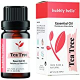Bubbly Belle Tea Tree Essential Oil, 100% Pure Natural Undiluted, Therapeutic Grade for Aromatherapy, Diffusers, Topical, and Massage - 10mL (1/3 Ounce)